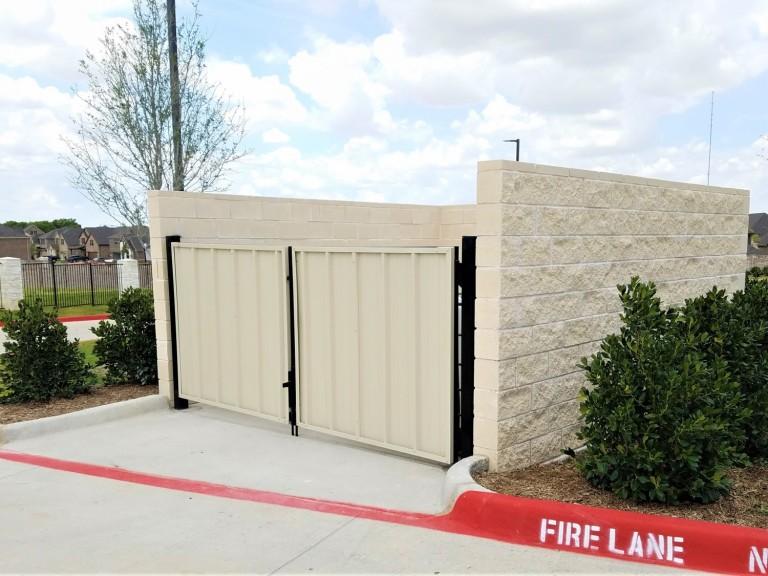 McKinney-TX-Brookhaven-Church-Block-Dumpster-Wall-Gates-1500x1125